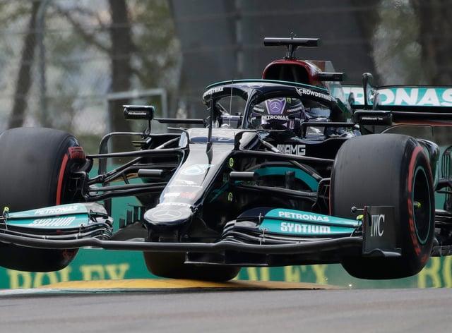 Lewis Hamilton topped the timesheets