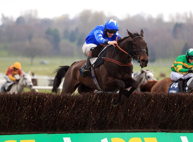 Mighty Thunder is a major contender for the home team in the Scottish Grand National at Ayr