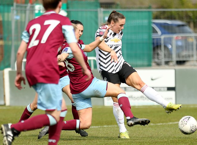 Burnley v Manchester United – Vitality Women's FA Cup – Fourth Round – County Ground