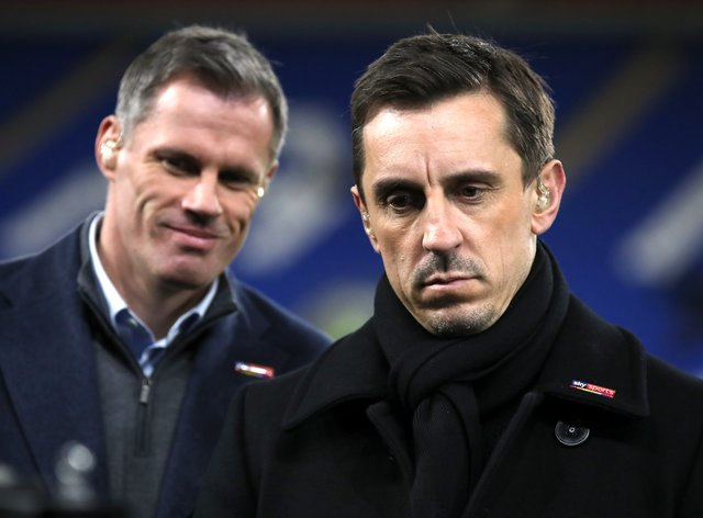 Jamie Carragher and Gary Neville have condemned the new Super League