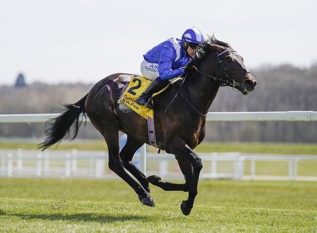 Al Aasy was an easy winner at Newbury