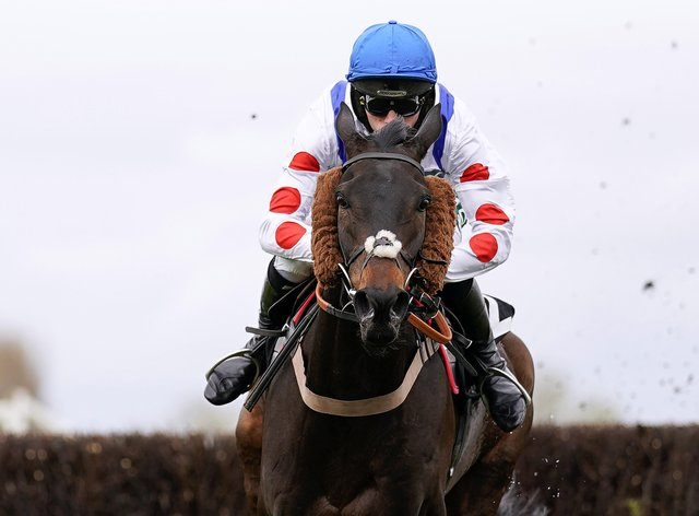 Clan Des Obeaux was a clear-cut winner at Aintree