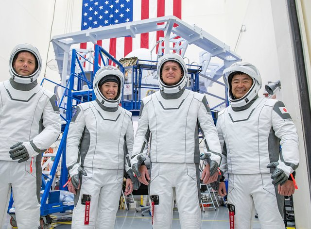 The crew for the second long-duration SpaceX Crew Dragon mission