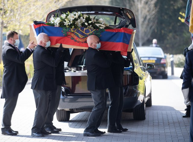 Albert Lilly funeral
