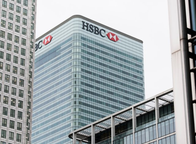 HSBC in London