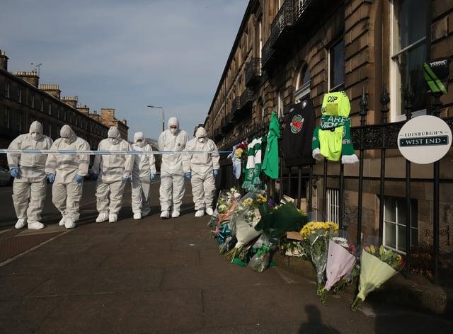 Bradley Welsh death scene