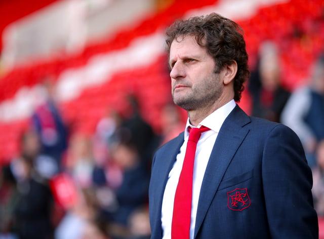 Arsenal manager Joe Montemurro
