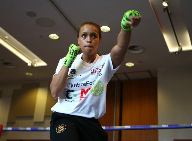 Natasha Jonas, pictured, has won seven of her nine professional fights (Dave Thompson/PA)