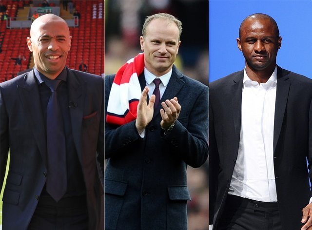 Thierry Henry, Dennis Bergkamp and Patrick Vieira have been linked with a takeover attempt of Arsenal.