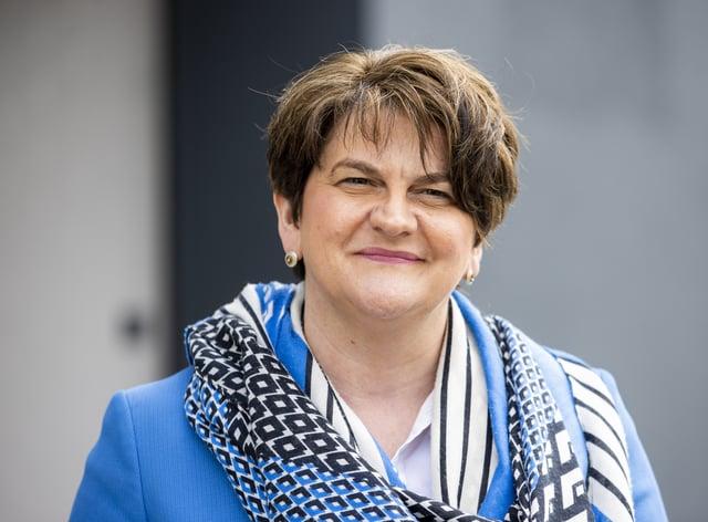 Arlene Foster steps down