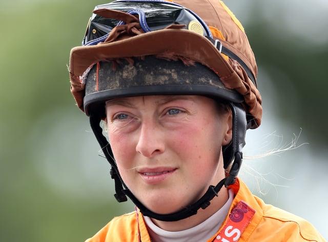 Jockey Lorna Brooke will be honoured at Cheltenham