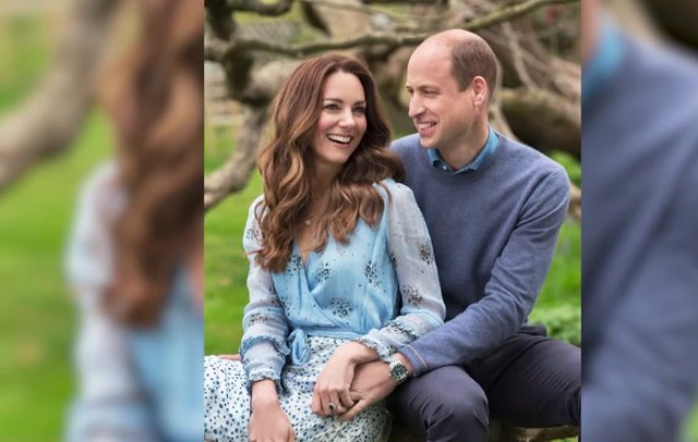 The Duke and Duchess of Cambridge have released two new pictures marking their 10th wedding anniversary. The photos show Prince William and Kate happy and smiling in the grounds of Kensington Palace. The royal couple got married at Westminster Abbey after an eight-year courtship.