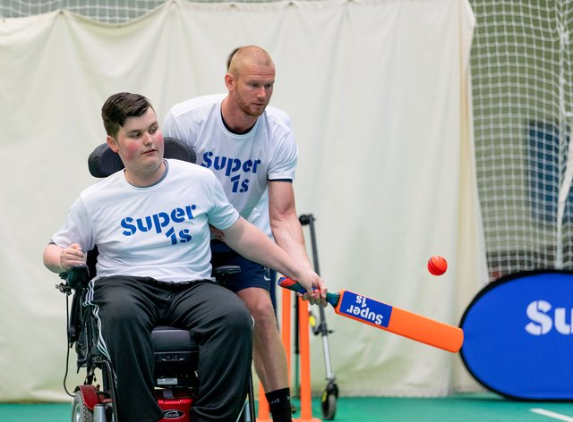 The ECB is teaming up with the Lord's Taverners to deliver new investment in disability cricket