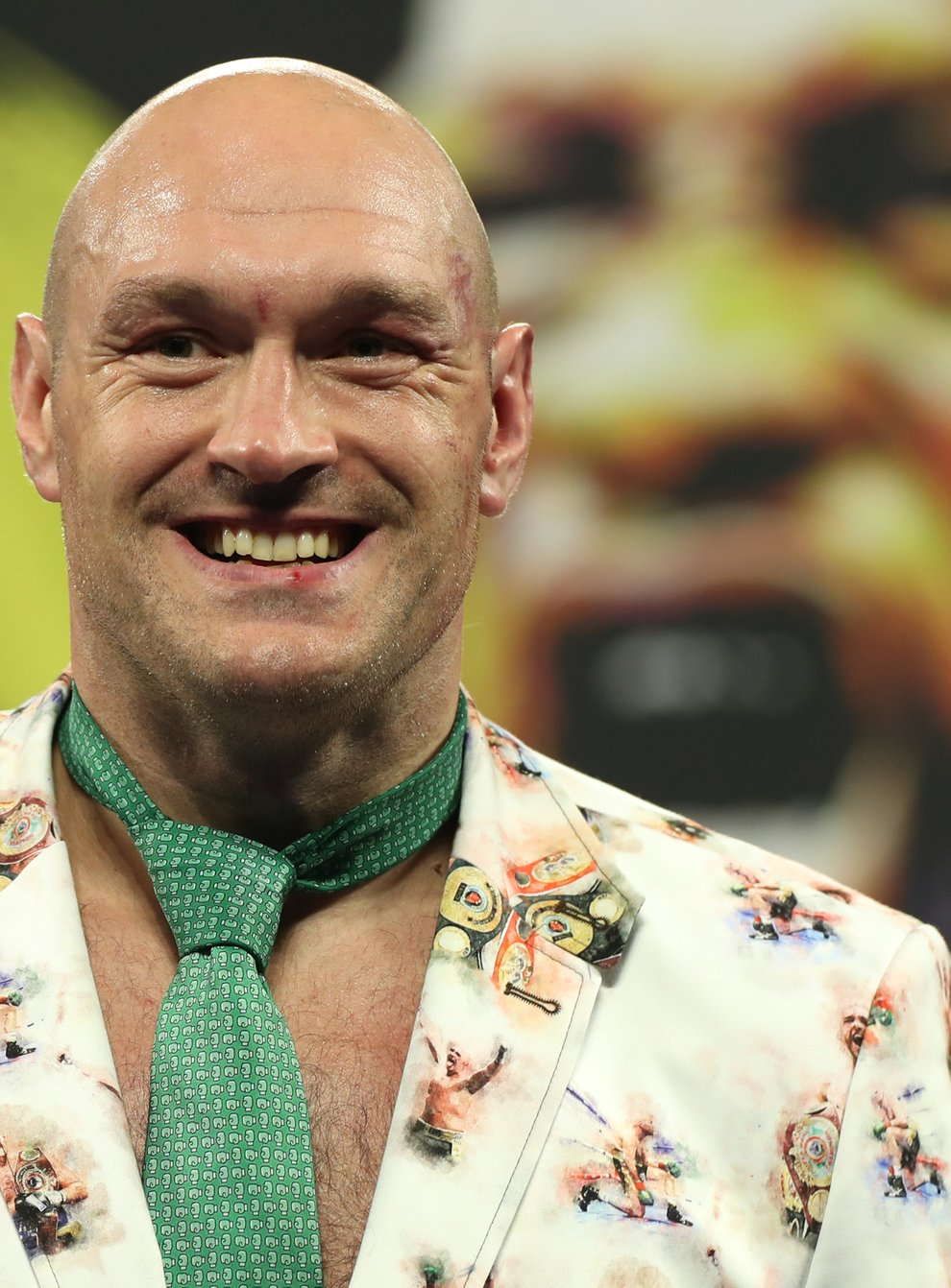 Tyson Fury will be at the Kentucky Derby