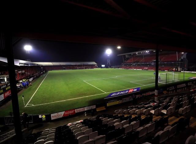 Grimsby were relegated in midweek