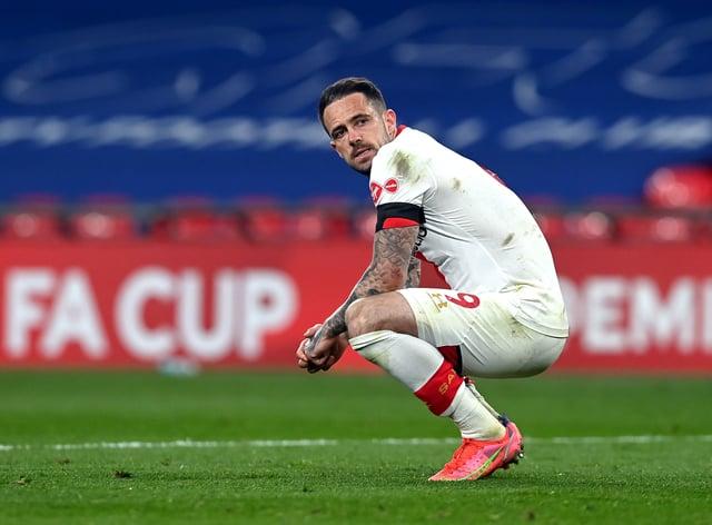 Southampton striker Danny Ings