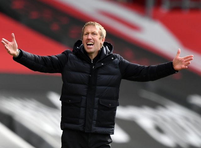 Brighton manager Graham Potter