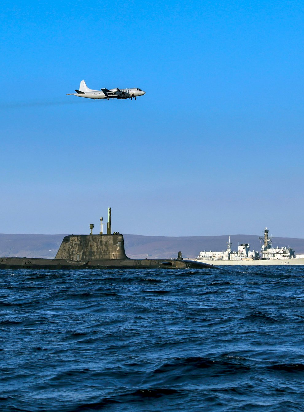 Military vessels and aircraft