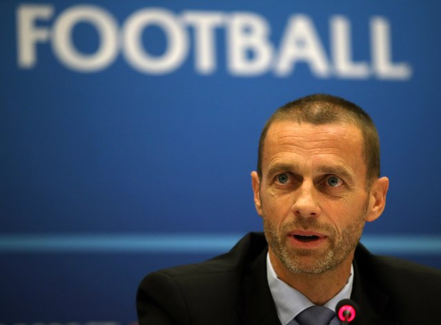 UEFA president Aleksander Ceferin has backed the direct action of a united sporting front