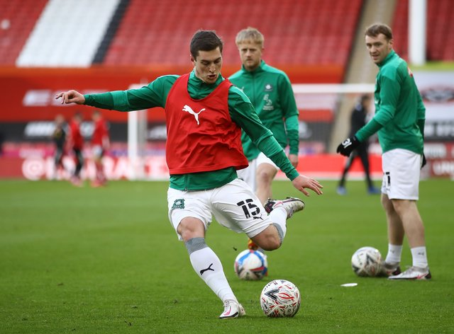Conor Grant could feature for Plymouth against Sunderland