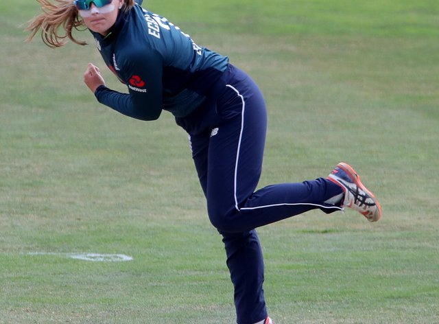 """England's Sophie Ecclestone hailed the decision to kick of the Hundred with a women's game as a """"massive moment"""" for the sport"""