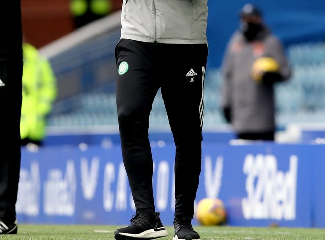 Celtic caretaker manager John Kennedy is looking for an Ibrox win