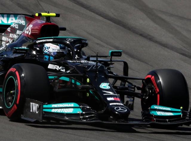 Valtteri Bottas beat Lewis Hamilton to pole