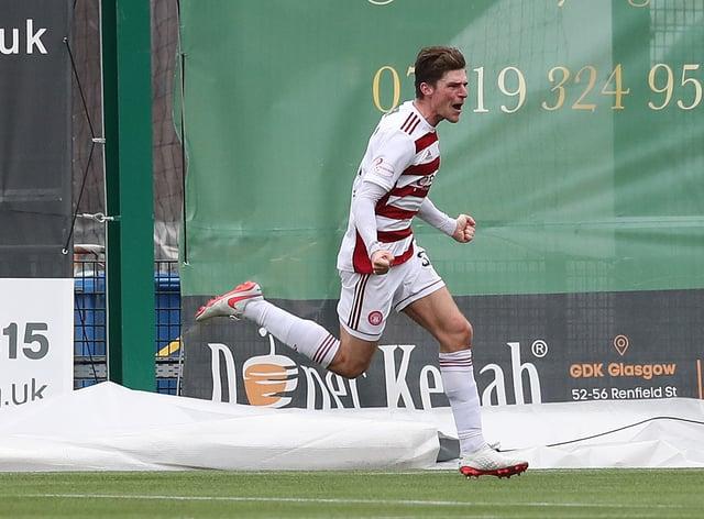 Ross Callachan scored as Hamilton claimed a vital victory at St Mirren