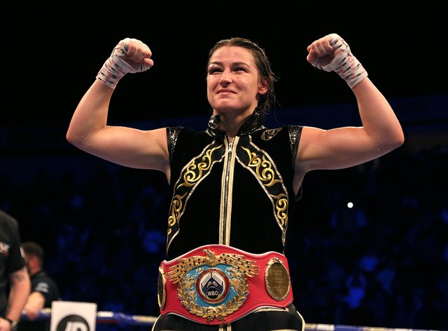Katie Taylor battled to victory