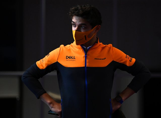 Lando Norris finished fifth at the Portuguese GP