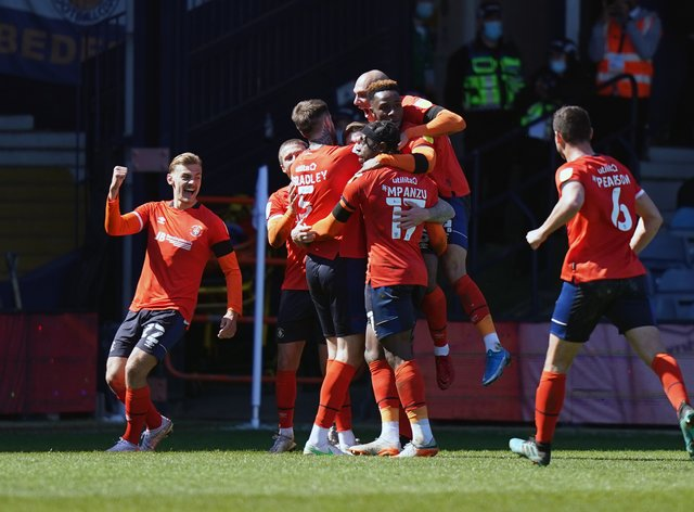 Luton are looking to claim a top-10 finish in the Sky Bet Championship