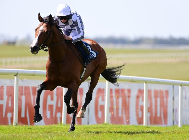 Broome was a cosy winner at the Curragh