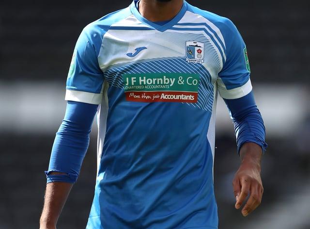 Dior Angus scored in Wrexham's 2-2 draw at Maidenhead