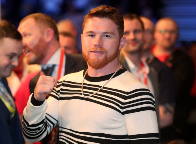 Saul 'Canelo' Alvarez, pictured, takes on Billy Joe Saunders in Texas this weekend (Liam McBurney/PA)