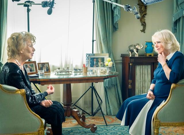 The Duchess of Cornwall meets Edna O'Brien
