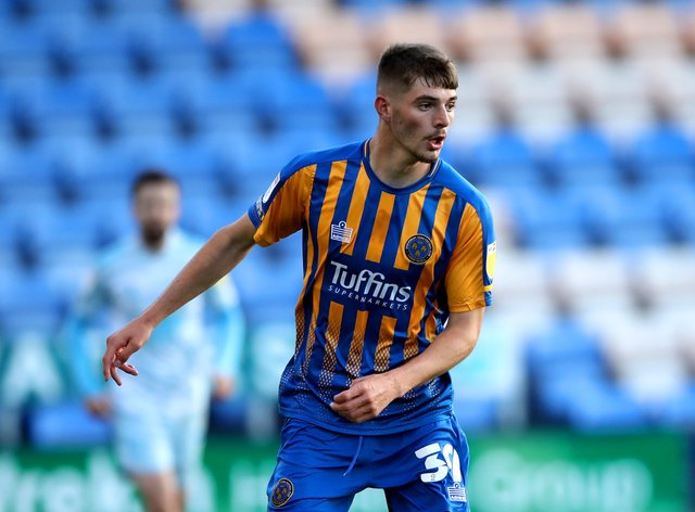 Shrewsbury Town v Ipswich Town – Sky Bet League One – Montgomery Waters Meadow