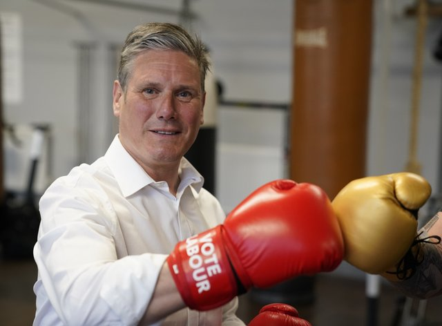 Labour leader Sir Keir Starmer will tour the country before the polls open for 'Super Thursday' as his party fights to hang on in its traditional heartlands, according to polling
