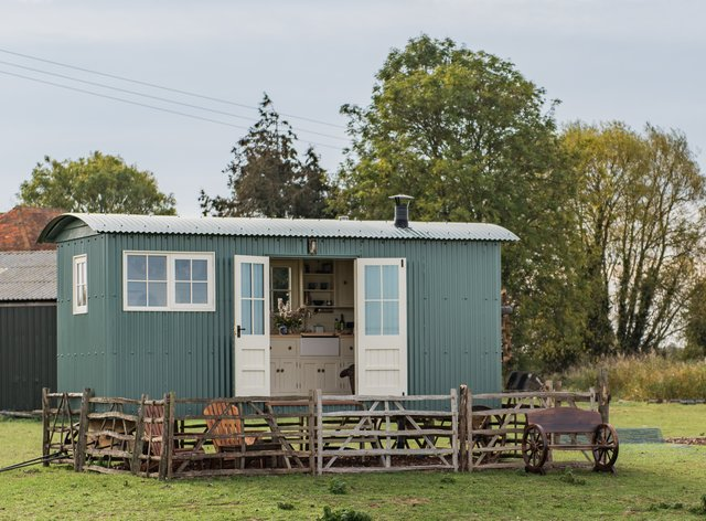 Romney Marsh Shepherds Huts