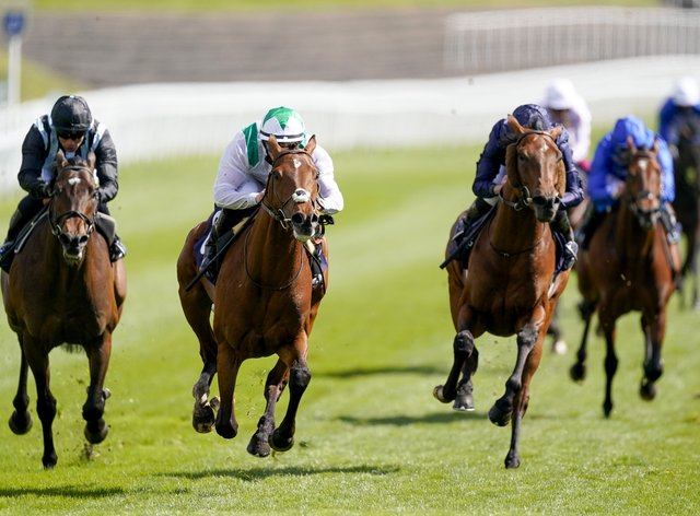 Youth Spirit (centre) came out on top in the Chester Vase