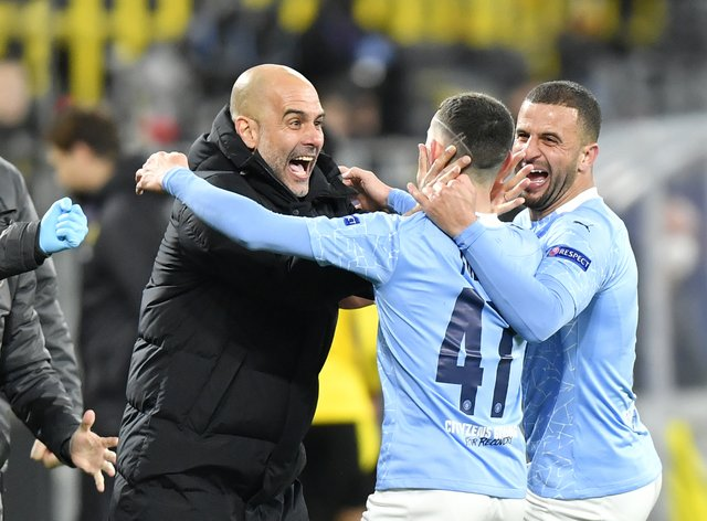 Guardiola has got the best out of his squad in the Champions League this season