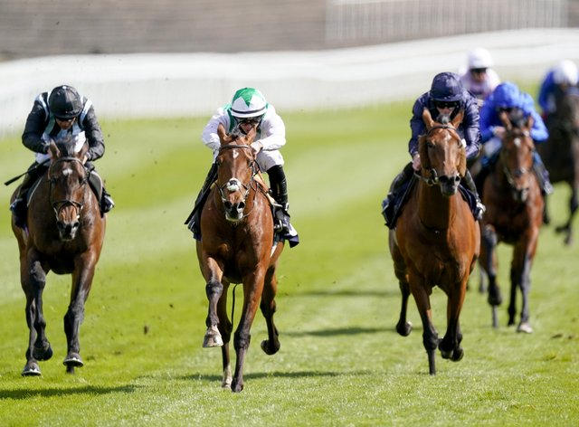 Youth Spirit (centre) booked his Cazoo Derby ticket at Chester