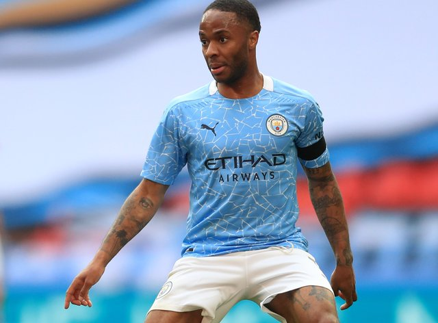 A racist post was directed at Raheem Sterling on Instagram