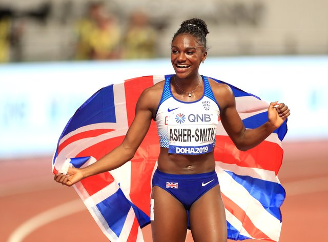 Olympic stars like Dina Asher-Smith are set to be offered Covid vaccines.