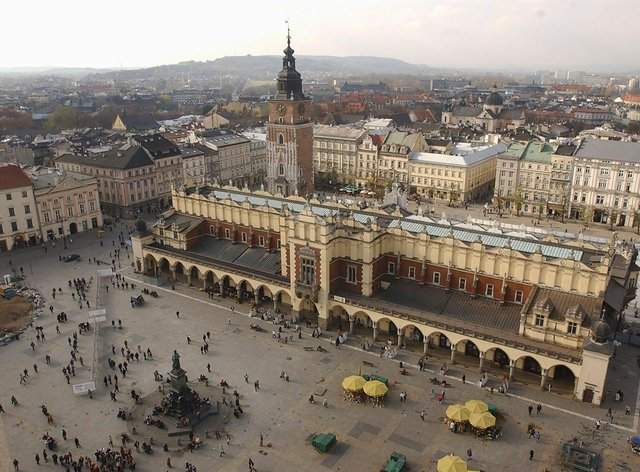 The Polish city of Krakow