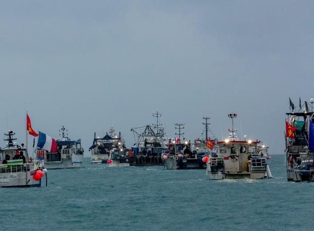 Jersey fishing dispute