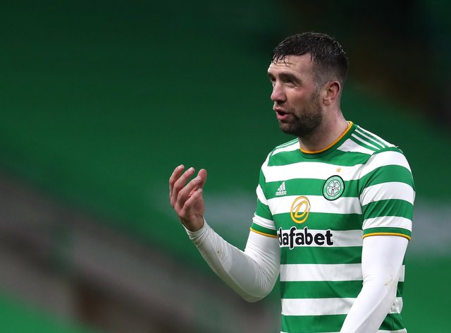 Shane Duffy endured a tough time at Celtic