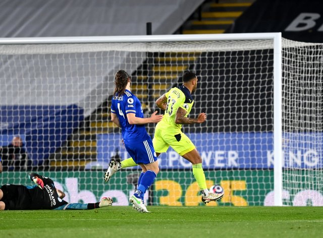 Callum Wilson scored twice in Newcastle's win at Leicester