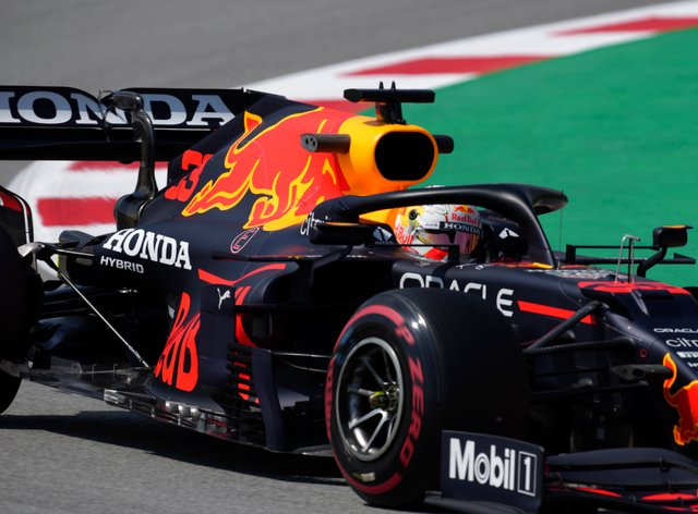 Max Verstappen finished fastest in final practice