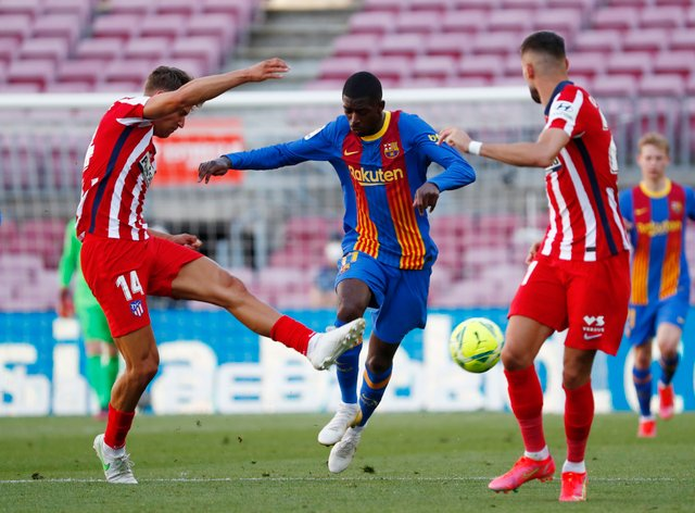 Barcelona and Atletico Madrid drew a blank