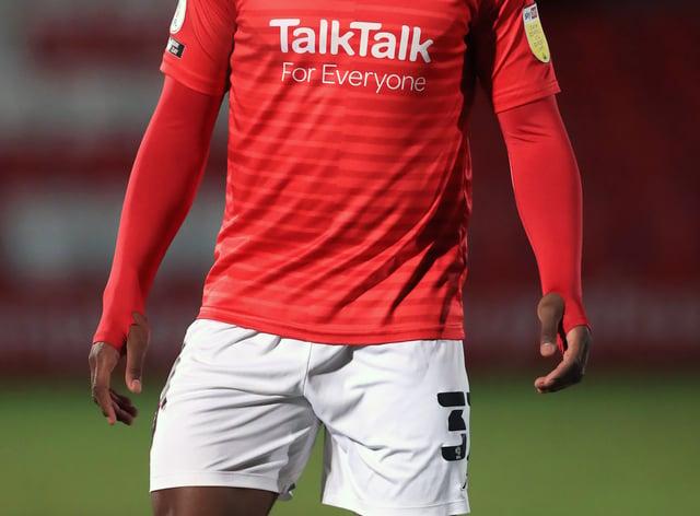 Brandon Thomas-Asante struck twice for Salford
